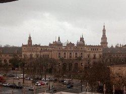 Plaza de España desde la habitación