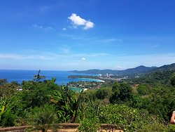 Looking towards Karon Beach