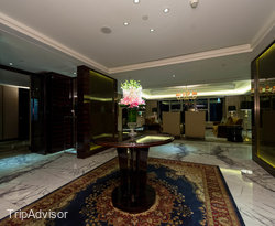 The President Suite at the Hilton Shanghai Hongqiao