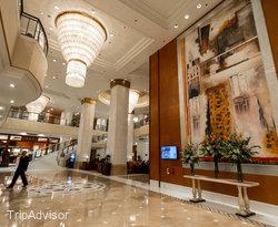 Lobby at the Hongqiao Jin Jiang Hotel