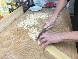 maltagliati per pasta e fagioli