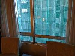 Ask for rooms facing Times Square/KLCC, otherwise you'll end up having this view