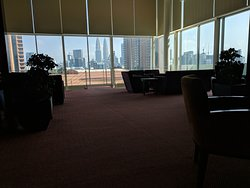 Executive Lounge (with leaking ceiling)