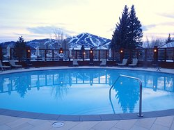 Old world charm and wonderful hot pool