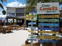 Crazy Canucks Beach Bar