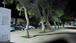 La piazza di notte