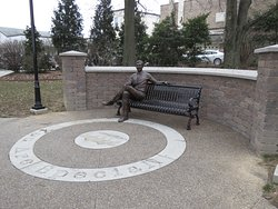 Mister Rogers' Park Bench
