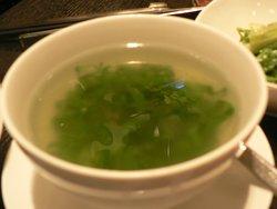 台北寒舍艾美酒店素食套餐餐點