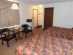 #2 was just remodeled with two full beds and a spacious bathroom.