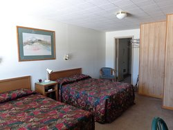 #3 has two full beds in front with an adjoining back room with tv and full bed  (3 adults max).