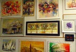 Luigi Florio's paintings