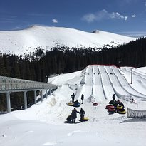 Snow Tubing at Adventure Point