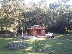 Vista da sauna Filandesa