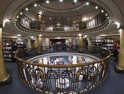 Beautiful old theatre bookshop