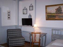 Chambre double + lit simple