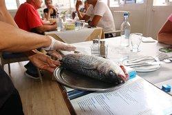 Rekommenderad fisk som man köper efter vikt.