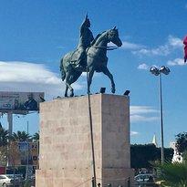 Equestrian Statue of Habib Bourguiba
