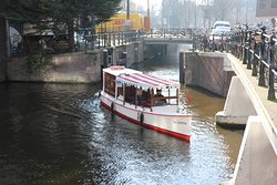 Canal boat Delphine Amsterdam