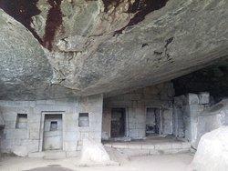El templo de la Luna en Machupicchu