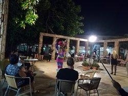 outside evening entertainment