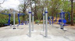 Park style gym within The Oaks Tamarindo