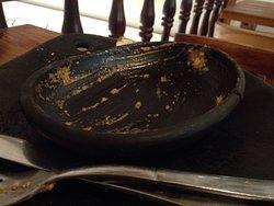 La lasagna bolognesa es deliciosa! Repetí porque sabía que era lo mejor que iba a comer en todo