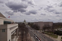 Pennsylvania Ave from the top floor