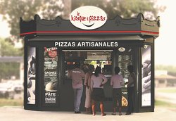 Kiosque a Pizzas
