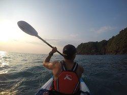Kayak are free! No rent!