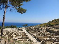 Ancient Kamiros panorama