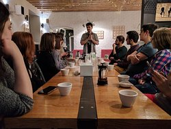 A glimpse into the introduction to specialty tea workshop.