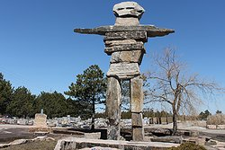 World's Largest Inukshuk