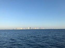 Vista desde el mar