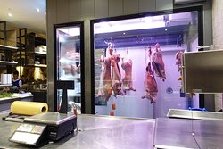 Hanging pigs