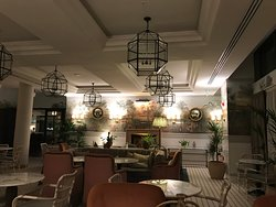 Beautifully decorated quirky hotel
