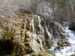 Detalle de las mini cascadas