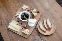 Zarah's cheese platter