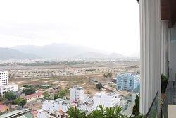 nice city/mountain view