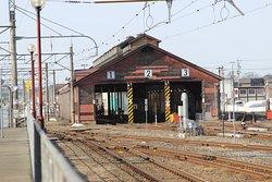 Former Japan Railways Shinjo Station Kikanko