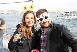Istanbul Bosphorus Cruise, Private Groupt Tour, Birthday Celebration