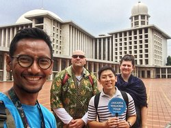 Istiqlal Mosque during our City Center Walking Tour