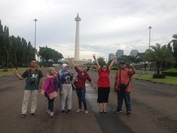 National Monument during CIty Center Walking Tour