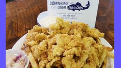 Downhome Diner Fish and Chips