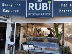 Exterior de Restaurante Casa RUBI