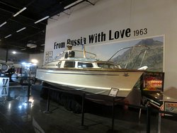 """a boat from the movie """"From Russia With Love"""""""