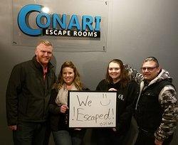 Conari Escape Rooms-Columbia