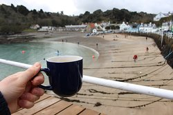 The Hungry Man - tea with a view