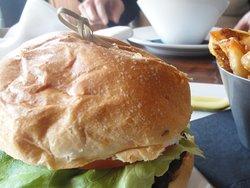 Maple Bourbon BBQ Burger