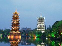 日月双塔文化公园