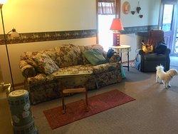 Comfortable, Beautiful, like Grandma's home.